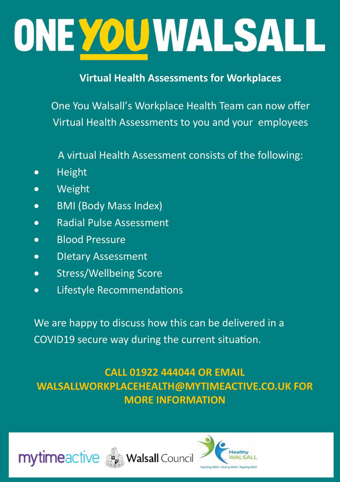 Corporate Virtual Health Assessments Flyer PDF Version-1