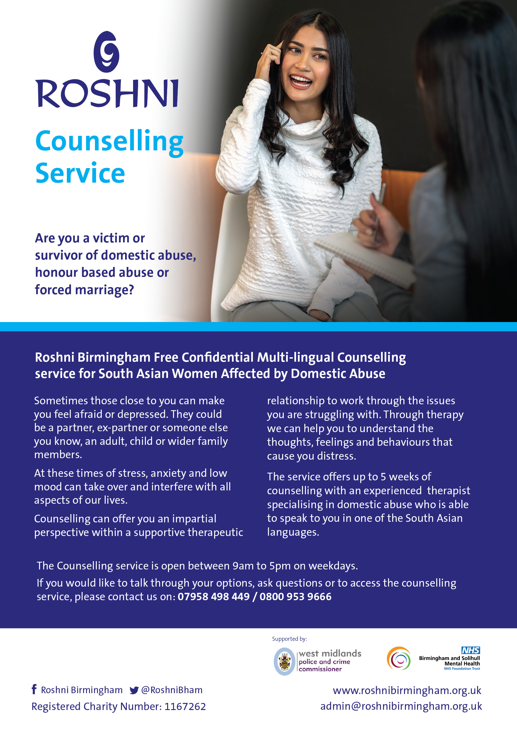 Roshni A5 Counselling Flyer 28-09-2020