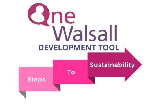 Steps to Sustainability Pink Arrow Logo FINAL