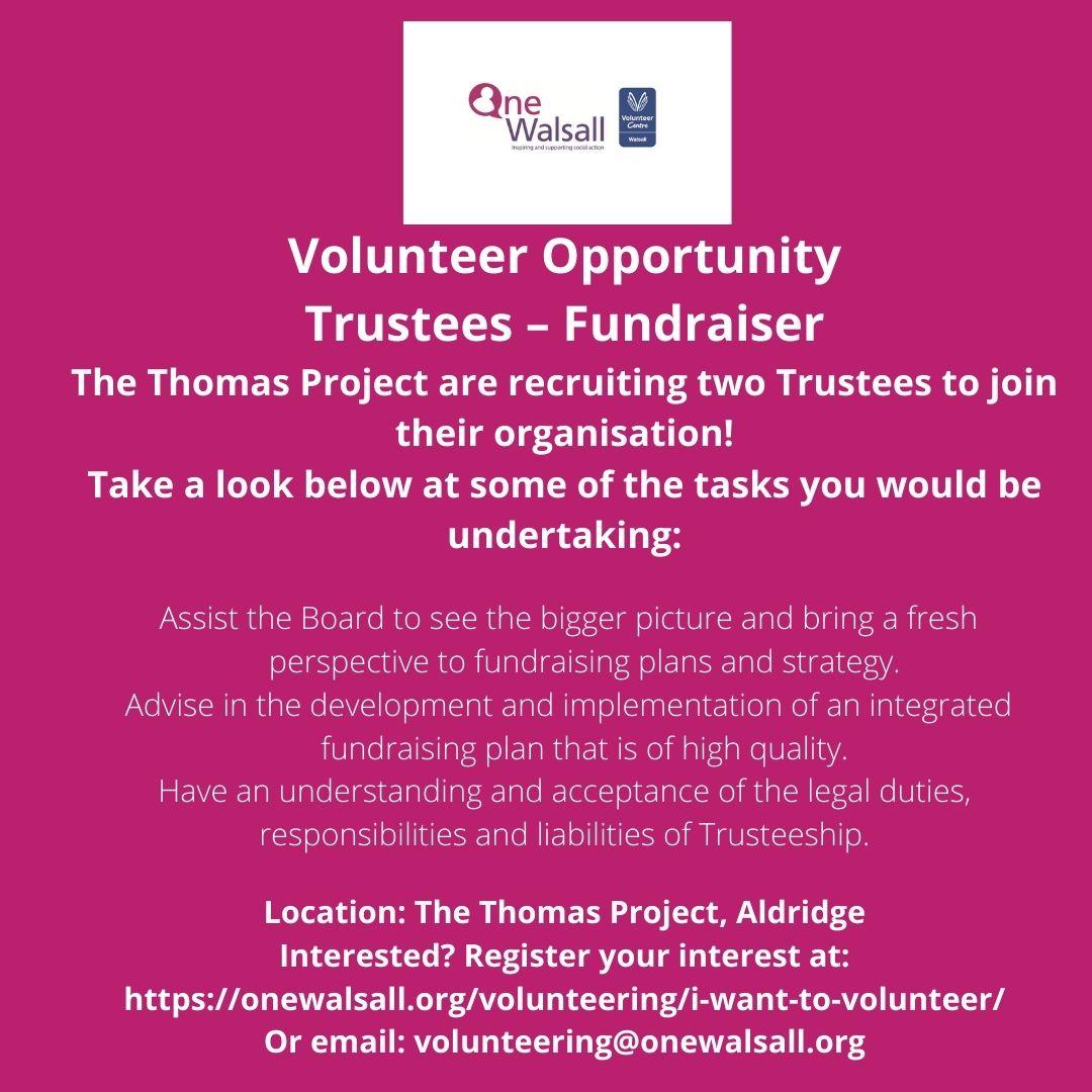 trustee volunteer st thomas