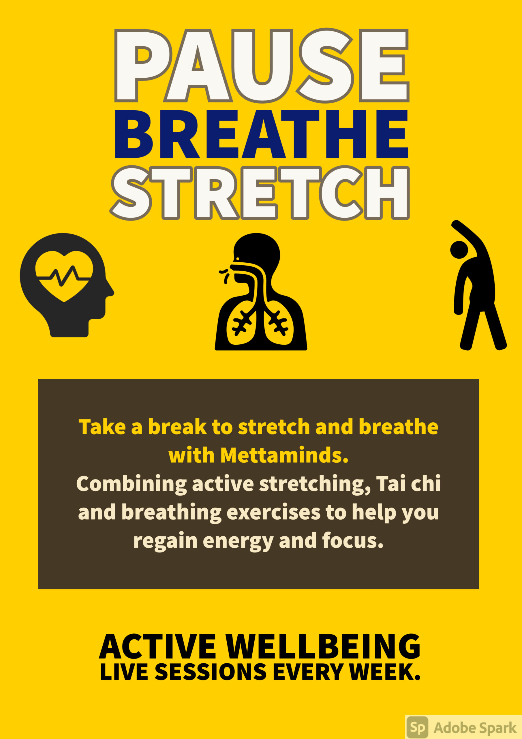 Pause Breathe and Stretch