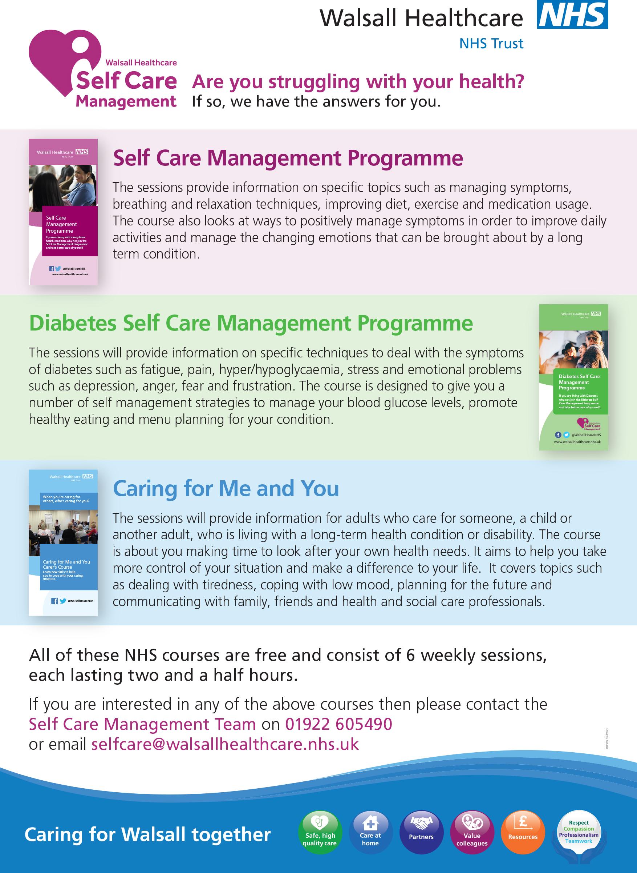 00105 Self Care Management A5 1pp CMYK v2