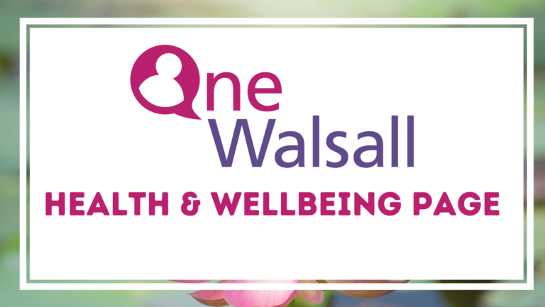 walsall wellbeing page (1)
