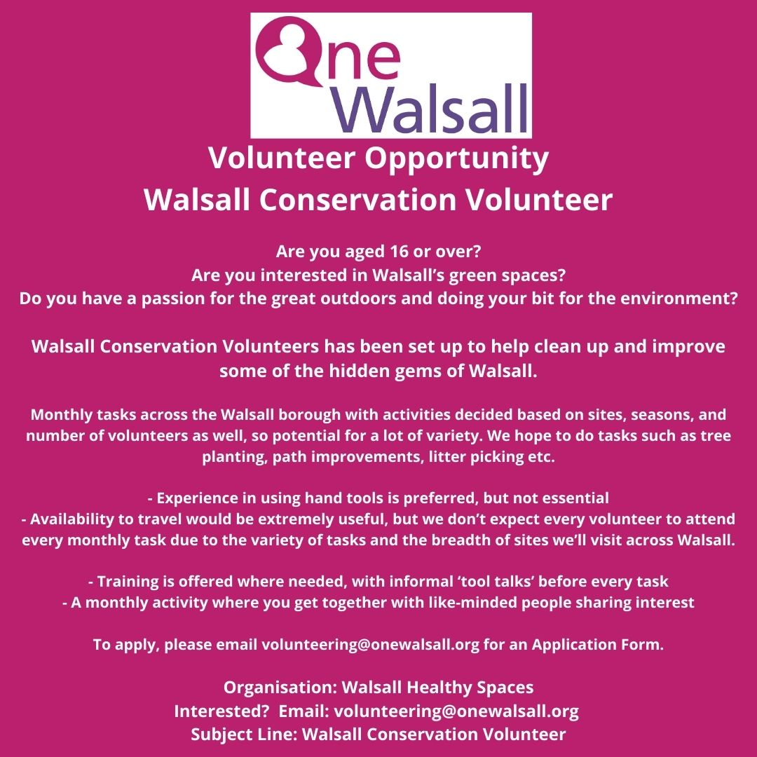 walsall conversation volunteer