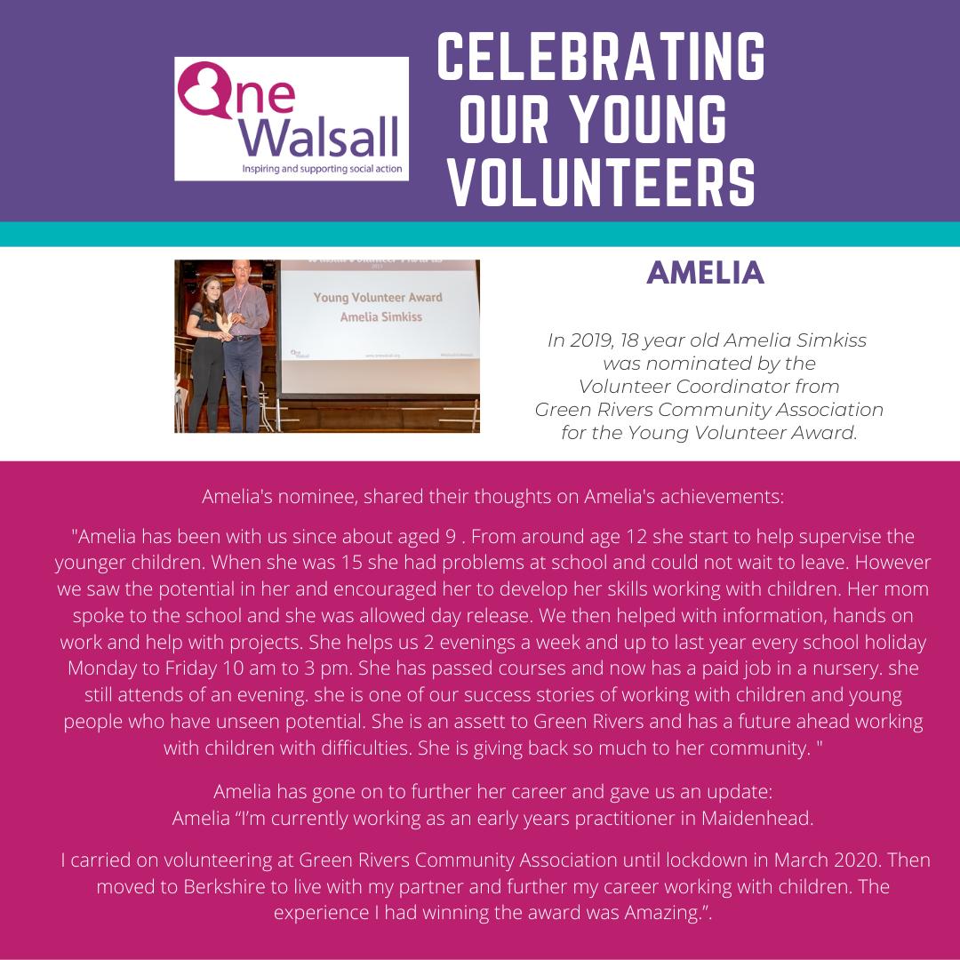 INstagram Amelia young volunteers poster (2)