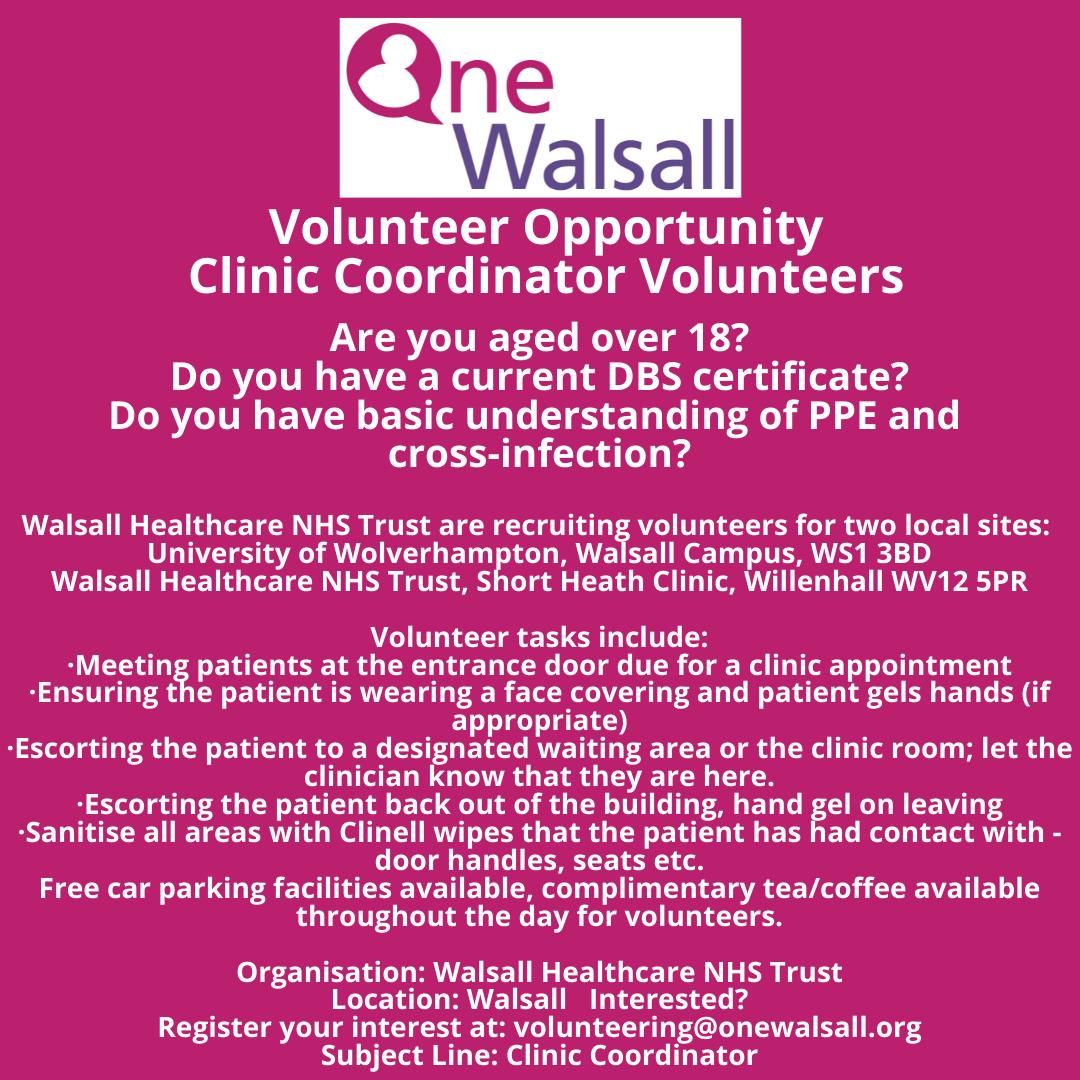 Walsall Volunteer opportunity (5)