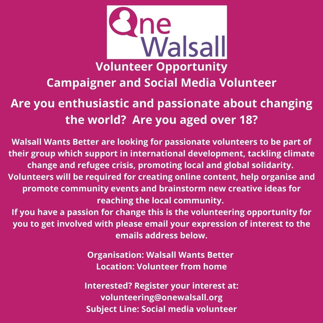 campaigner volunteer opportunity
