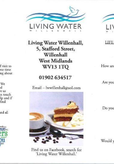 Living Water - Willenhall Befriending C-page-001