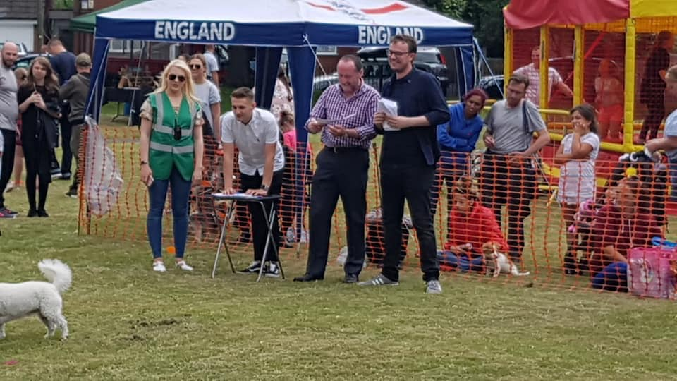 Dog show judges
