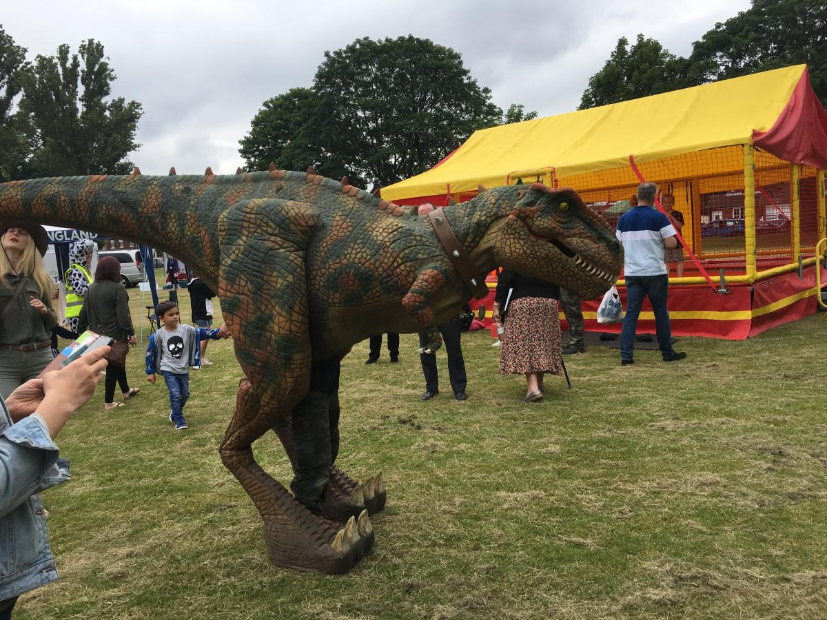 Pete the Dinosaur