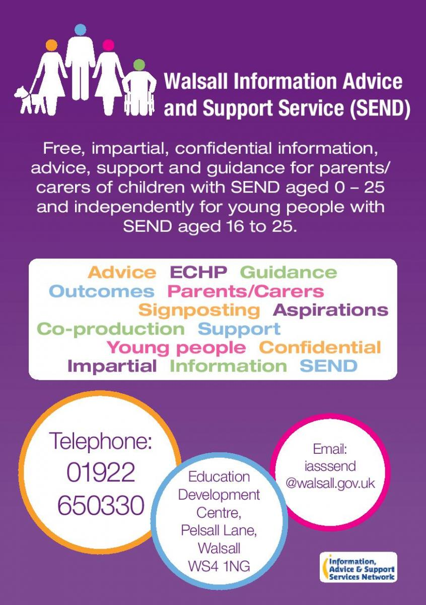 SEND (Special Education Needs and Disability) Advice and Support Leaflet C-page-001
